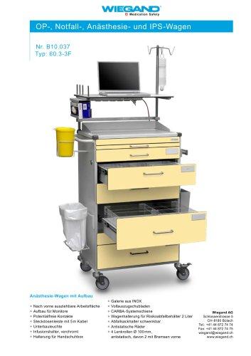 OP-, Notfall-, Anästhesie- und IPS-Wagen