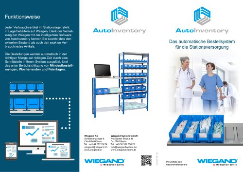 Wiegand AutoInventory