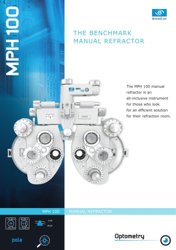 THE BENCHMARK MANUAL REFRACTOR