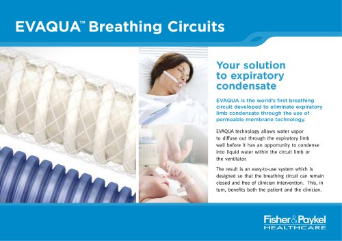 EVAQUA Breathing Circuits