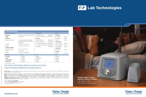 Lab Technologies Brochure