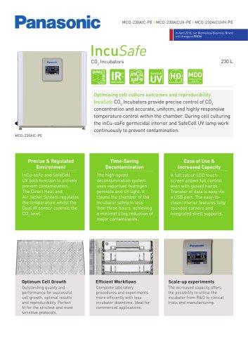 IncuSafe CO2 Incubator MCO-230AIC