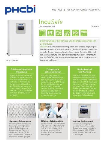 MCO-170AIC-PE CO2-Inkubatoren