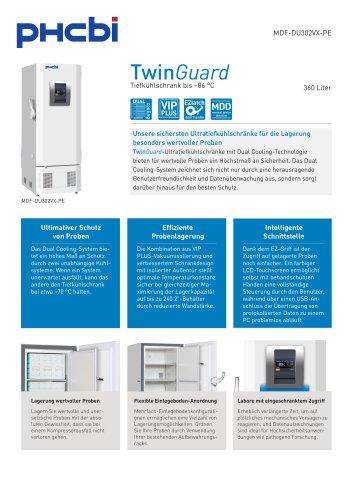MDF-DU302VX-PE Tiefkühlschrank bis –86 °C