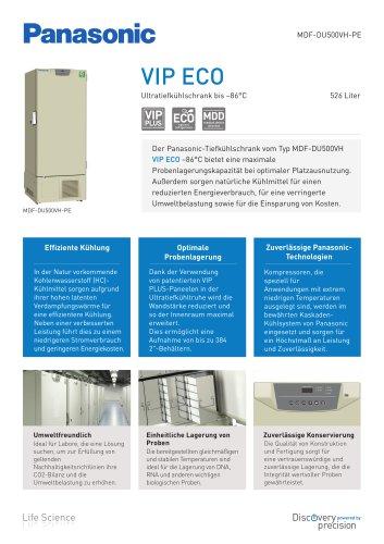 MDF-DU500VH VIP ECO Ultratiefkühlschränke bis –86 °C