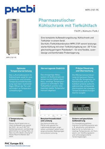MPR-215F-PE Pharmazeutischer Kühlschrank mit Tiefkühlfach