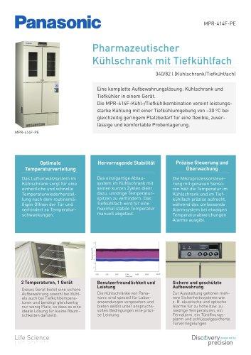 MPR-414F Pharmazeutischer Kühlschrank mit Tiefkühlfach