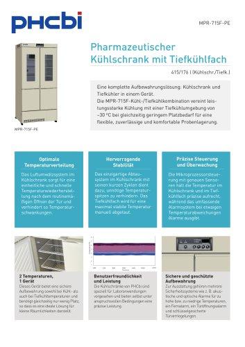 MPR-715F-PE Pharmazeutischer Kühlschrank mit Tiefkühlfach