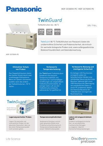 TwinGuard -86 °C Tiefkühltruhen