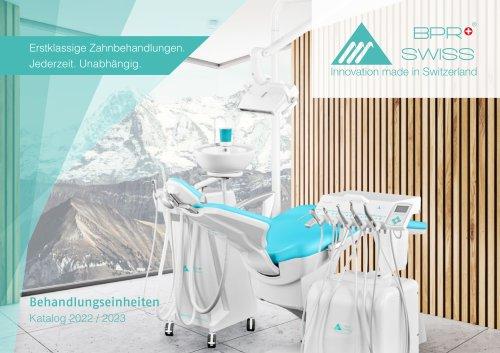 Broschüre Behandlungseinheiten BPR Swiss
