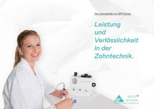 Laborgeräte von BPR Swiss