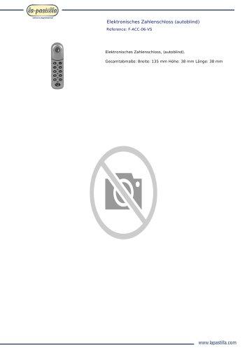 ELEKTRONISCHES ZAHLENSCHLOSS (AUTOBLIND)