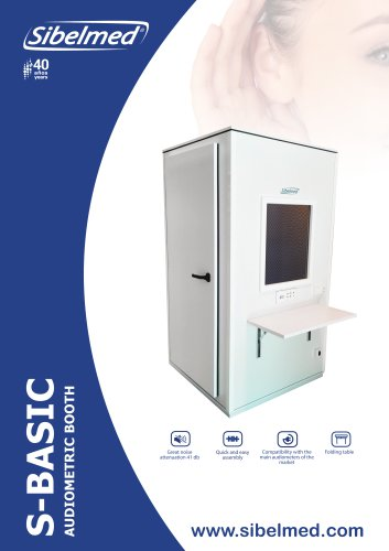 Audiometric booth S-BASIC