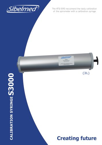 Calibration Syringe S3000