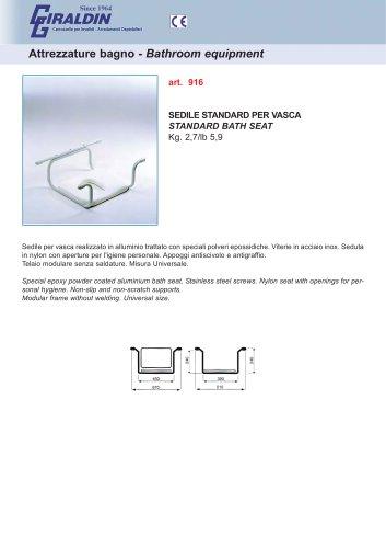 STANDARD BATH SEAT 916