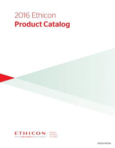 2016 Ethicon Product Catalog