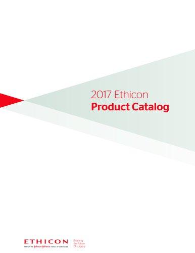2017 Ethicon Product Catalog