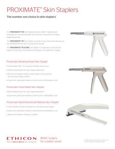 PROXIMATE ®  Skin Staplers