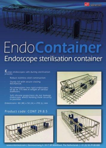 endoscope sterilisation container