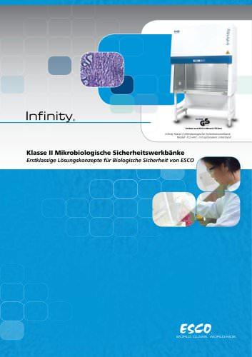 Klasse II Mikrobiologische Sicherheitswerkbänke