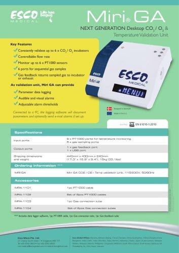 Miri® GA Temperature Validation Unit