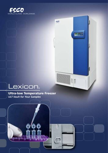 Ultra Low Temperature Freezers Lexicon® UUS