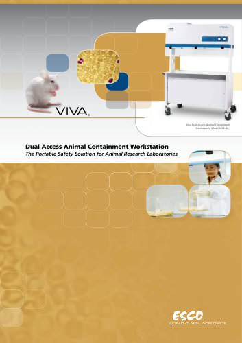Viva - Dual Access Animal Containment Workstation