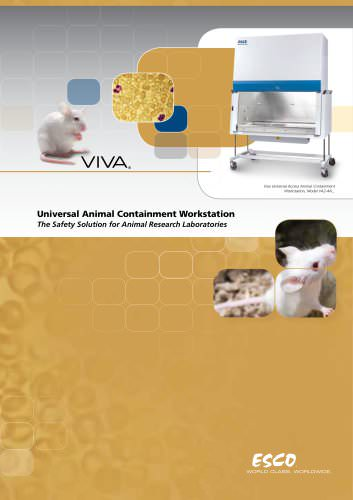 Viva - Universal Animal Containment Workstation