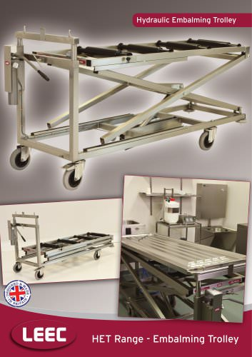 Hydraulic Embalming Trolley