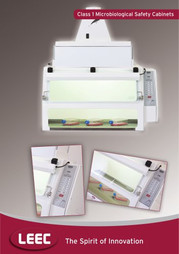 Microbiological Safety Cabinet brochure