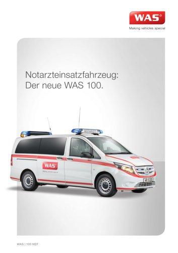 WAS 100 Notarzteinsatzfahrzeug Mercedes-Benz Vito 3 T