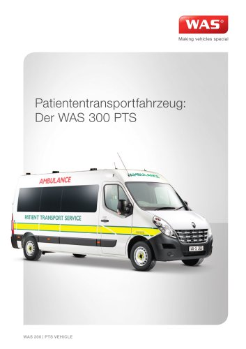 WAS 300 Patiententransportwagen Renault Master Kastenwagen PTS 3,5 T