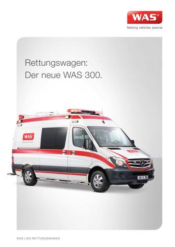 WAS 300 Rettungswagen Mercedes-Benz Sprinter Kastenwagen 3.88 T