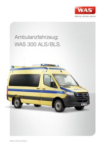 WAS 300 Rettungswagen RTW Mercedes-Benz Sprinter Kastenwagen ALS/BLS 3,5 T