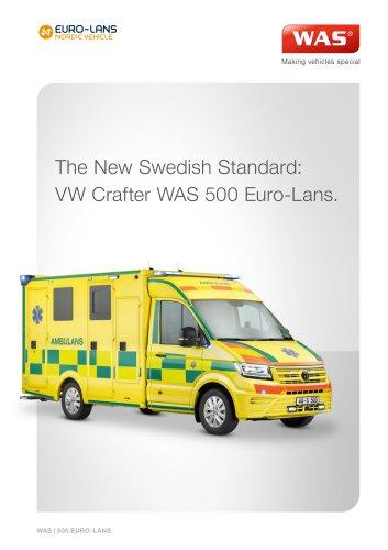WAS 500 Emergency Ambulance Volkswagen Crafter Box Body 4.3 T