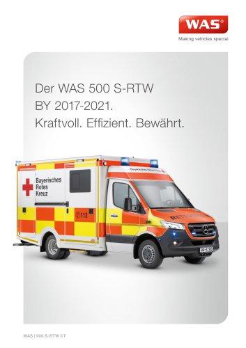 WAS 500 Schwerlast-Rettungswagen S-RTW Mercedes-Benz Sprinter Kofferaufbau 5 T