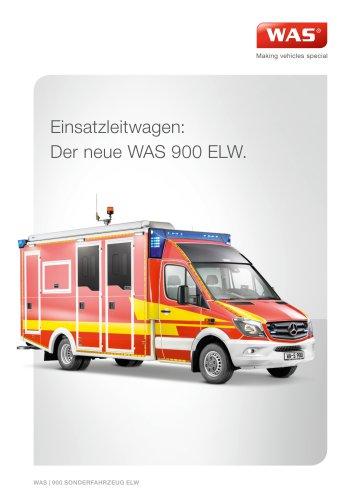 WAS 900 Katastrophenschutzfahrzeug Einsatzleitwagen Mercedes-Benz Sprinter Kofferaufbau 5 T