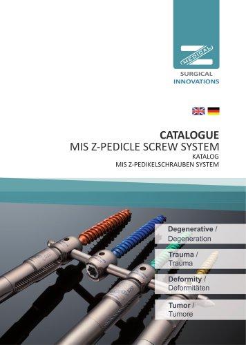 MIS Z-Pedikelschraubensystem Z-Medical