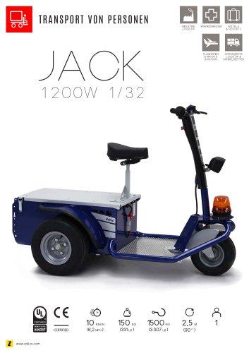 JACK Elektroplattformwagen