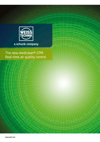 mediclean® Continuous Particle Monitoring (CPM)