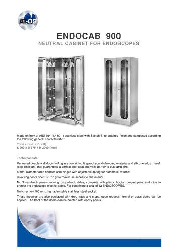 ENDOCAB 900 NEUTRAL CABINET FOR ENDOSCOPES