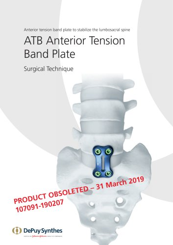 ATB Anterior Tension Band Plate