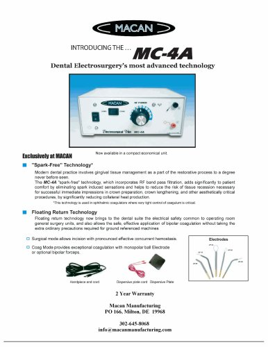 Dental Electrosurgery's most advanced technology