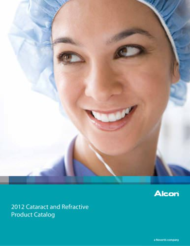 2012 Cataract and Refractive Product Catalog