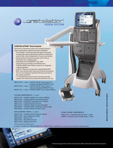 CONSTELLATION® Vision System