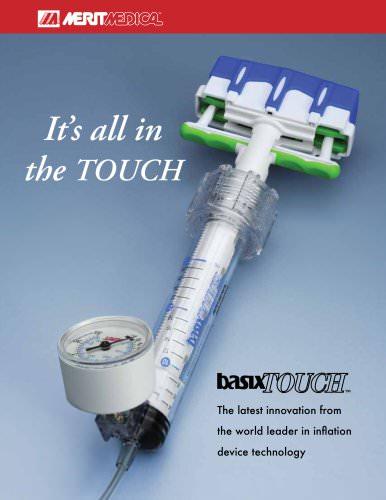 basixTOUCH Inflation Syringe Brochure