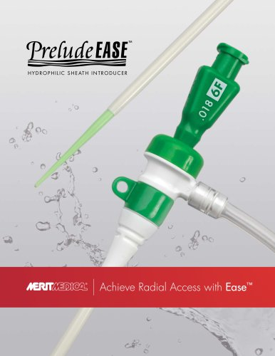 PreludeEASE Hydrophilic Sheath Introducer (US only)