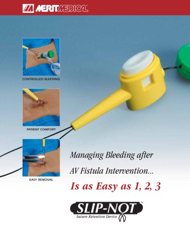Slip-Not® Suture Retention Device
