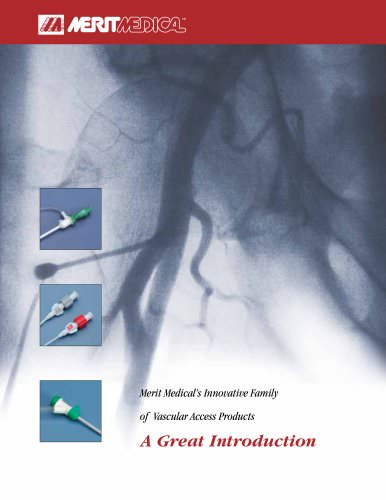 Vascular Access Products