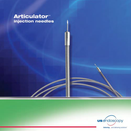 Articulator injection needle